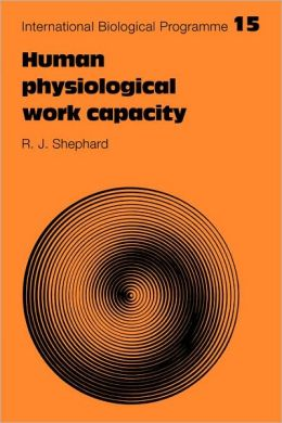 Human Physiological Work Capacity