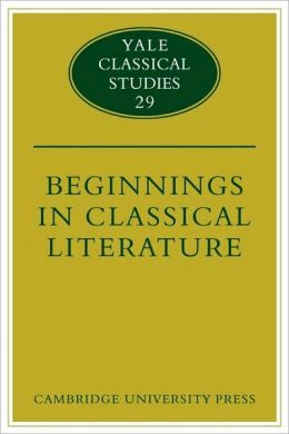 Beginnings in Classical Literature