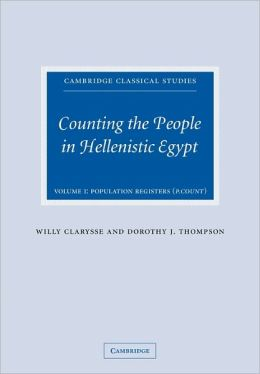 Counting the People in Hellenistic Egypt