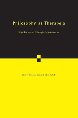 Philosophy as Therapeia, Volume 66