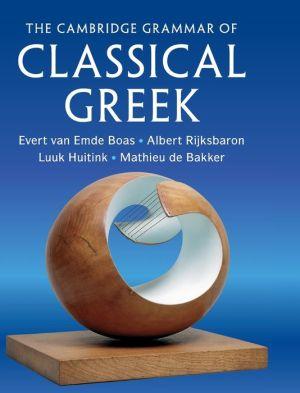 Book The Cambridge Grammar of Classical Greek
