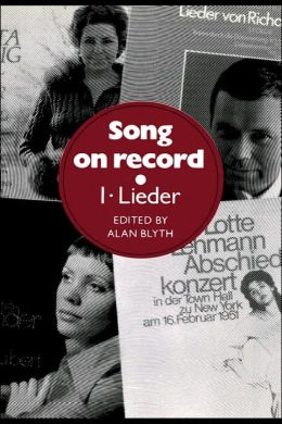 Song on Record, Volume 1: Lieder