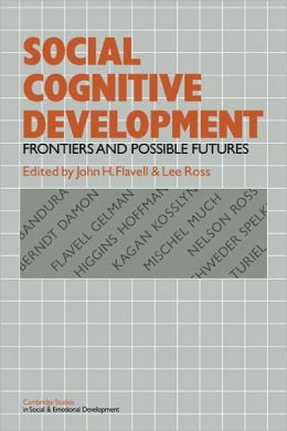 Social Cognitive Development: Frontiers and Possible Futures