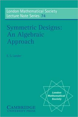 Symmetric Designs: An Algebraic Approach