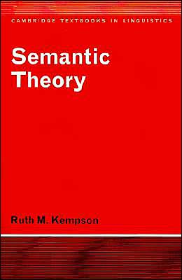 Semantic Theory