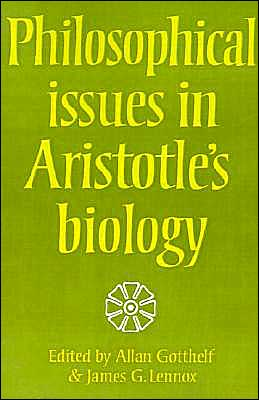 Philosophical Issues in Aristotle's Biology