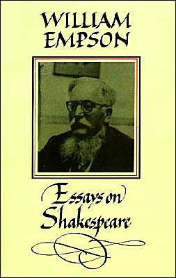 William Empson: Essays on Shakespeare