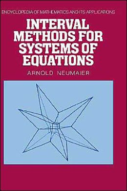 Interval Methods for Systems of Equations