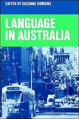 Language in Australia