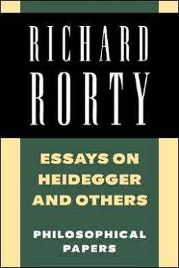 Essays on Heidegger and Others: Volume 2: Philosophical Papers
