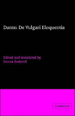 Dante: De vulgari eloquentia