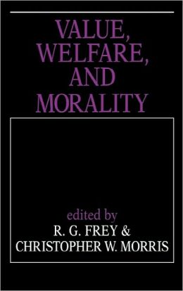 Value, Welfare, and Morality
