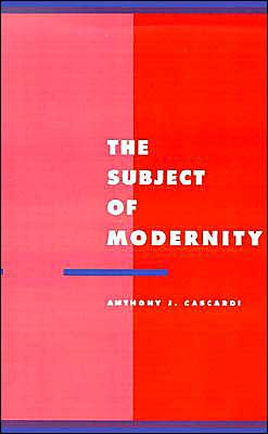 The Subject of Modernity