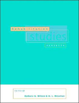 Rehabilitation Studies Handbook