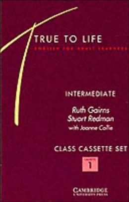 True to Life Intermediate Class Audio Cassette Set (3 Cassettes): English for Adult Learners