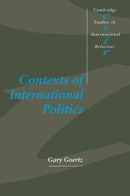 Contexts of International Politics