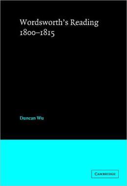 Wordsworth's Reading, 1800-1815