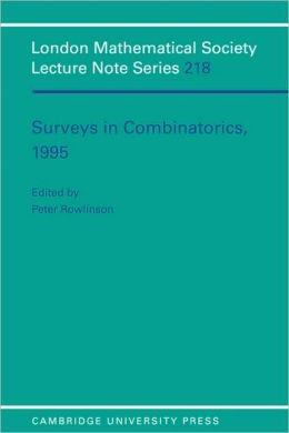 Surveys in Combinatorics, 1995