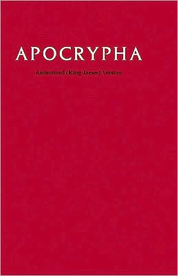KJV Apocrypha Text Red Hardcover AO
