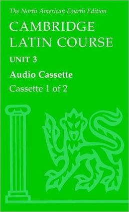 North American Cambridge Latin Course Unit 3 Audio Cassette
