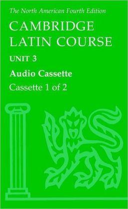 North American Cambridge Latin Course Unit 3 Audio Cassette