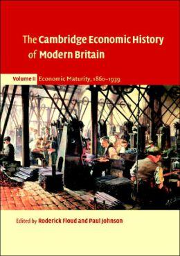 The Cambridge Economic History of Modern Britain