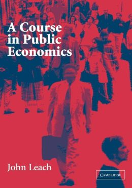 A Course in Public Economics