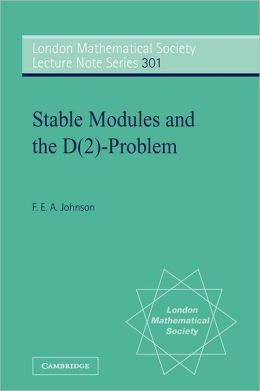Stable Modules and the D(2)-Problem