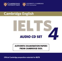 Cambridge IELTS 4 Audio CD Set (2 CDs): Examination papers from University of Cambridge ESOL Examinations