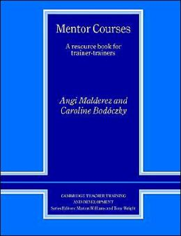 Mentor Courses: A Resource Book for Trainer-Trainers