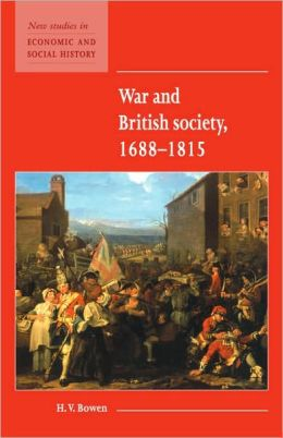 War and British Society 1688-1815