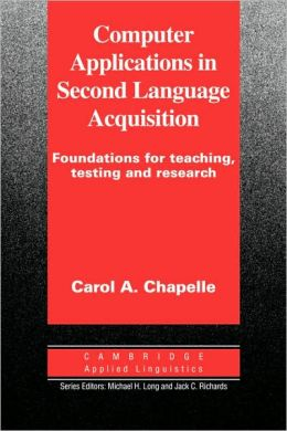 Computer Applications in Second Language Acquisition