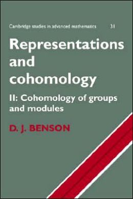Representations and Cohomology, Volume 2: Cohomology of Groups and Modules