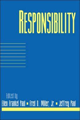 Responsibility: Volume 16, Part 2