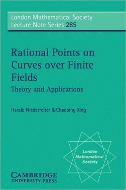 Rational Points on Curves over Finite Fields: Theory and Applications