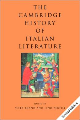 The Cambridge History of Italian Literature