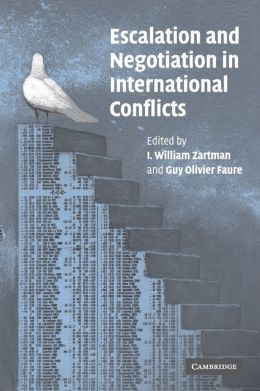 Escalation and Negotiation in International Conflicts