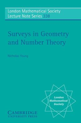 Surveys in Geometry and Number Theory: Reports on Contemporary Russian Mathematics