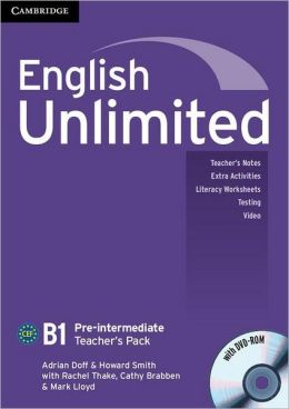 English Unlimited Pre-intermediate Teacher's Book with DVD-ROM