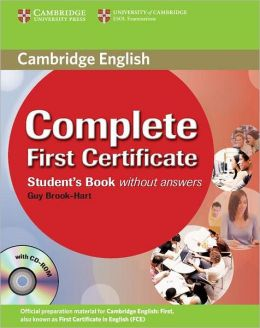 Complete First Certificate Student's Book with CD-ROM
