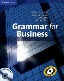 Grammar for Business with: Audio CD