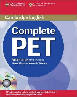 Complete PET Workbook with Answers