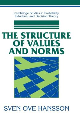 The Structure of Values and Norms