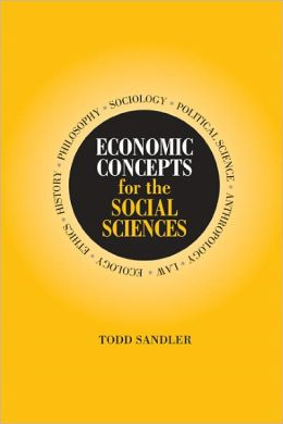Economic Concepts for the Social Sciences