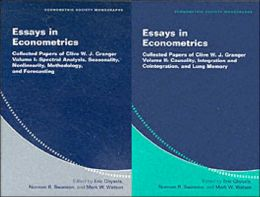 Essays in Econometrics (2 Volume Paperback Set): Collected Papers of Clive W. J. Granger