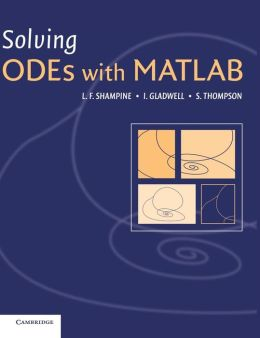 Solving ODEs with MATLAB