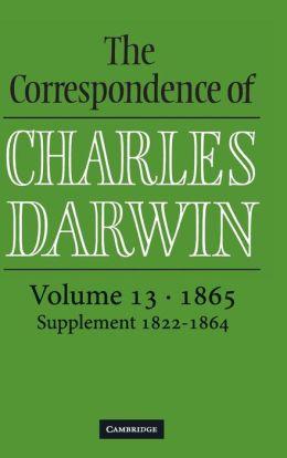 The Correspondence of Charles Darwin, Volume 13, 1865