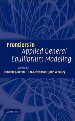 Frontiers in Applied General Equilibrium Modeling: In Honor of Herbert Scarf