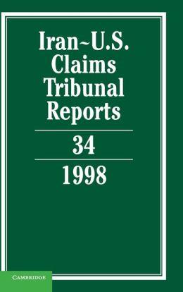 Iran-U.S. Claims Tribunal Reports, Volume 34