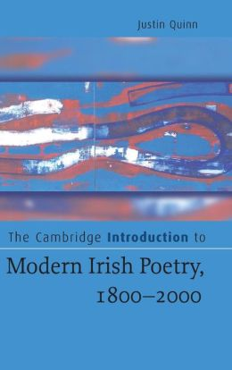 The Cambridge Introduction to Modern Irish Poetry, 1800-2000